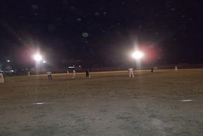 NIGHT CRICKET MATCH IN AMBIKAPUR
