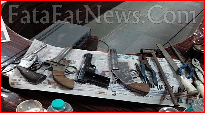 Illegal arms factory in sahdol