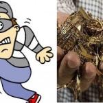 In the name of polishing jewelry swindle