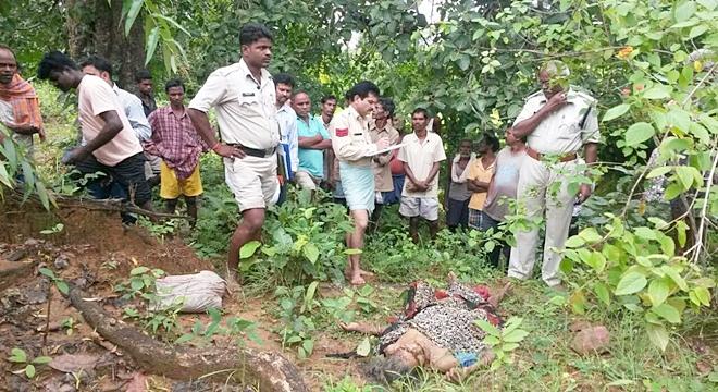 jaspur rape and murder, बगीचा थाना पुलिस, 62 वर्षीय महिला के साथ बलात्कार और हत्या,